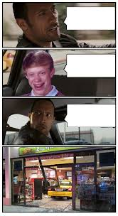 Meme Generator Bad Luck Brian - bad luck brian disaster taxi runs into convenience store blank