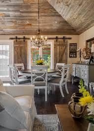 rustic dining room ideas rustic dining room with reclaimed wood ceiling the barn board was