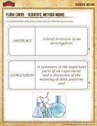 flash cards u2013 scientific method nouns u2013 scientific method