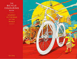 bicycle colouring book grown ups coming month road cc