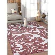 Rose Area Rug Casual Del Mar Rug 5 U00273 X 7 U00276 Free Shipping Today Overstock
