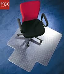 tapis de sol bureau chaise de bureau mat tapis de sol protecteur pvc protection en
