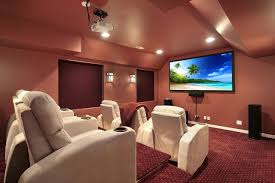 Home Cinema Decor Uk by Glamorous 50 Home Theater Designer Design Ideas Of Acoustical