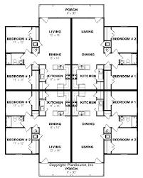 28 4 plex apartment plans fourplex plan apartment plan j891