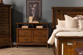 Broyhill Mission Style Bedroom Furniture Broyhill Estes Park Panel Bed Mathis Brothers Furniture