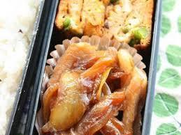 cuisiner avec du gingembre bento au porc mariné au gingembre avec une salade de pomme de terre