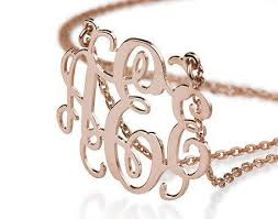 gold monogram best 25 gold monogram necklace ideas on monogram