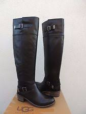 s ugg australia leather boots ugg australia leather knee boots for ebay