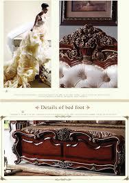 Barock Schlafzimmer Set Antiken Luxus Europäischen Rokoko Bett Barock Französisch Provinz