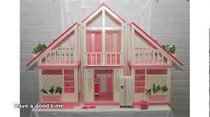 vintage barbie dream house youtube