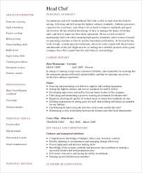 chef resume templates sushi chef resume pdf free download chef