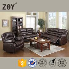 wholesale french style recliner sofa chair sala set fabric leather