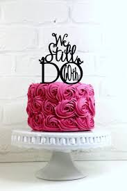 we still do birds 60th vow renewal or anniversary cake topper