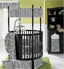 Striped Canopy by Bedroom Cheap Cribs In Brown Plus Trundle And Canopy For Nursery