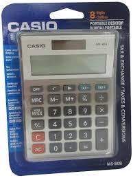 amazon com casio ms 80b standard function desktop calculator