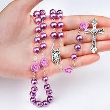 purple rosary lent purple rosary 50 catholic e store