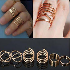 gold nail ring ebay