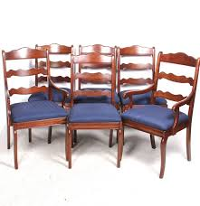 pennsylvania house ladder back dining chairs ebth
