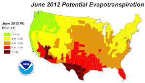Great Lakes North America Map by Drought June 2012 State Of The Climate National Centers For