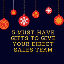 5 must gifts to give your direct sales team