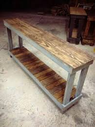 Wood Sofa Table by 30 Diy Sofa Console Table Tutorial Sofa Tables Tutorials And