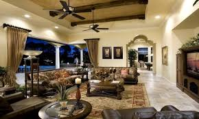 interior perfect mediterranean style living room venetian