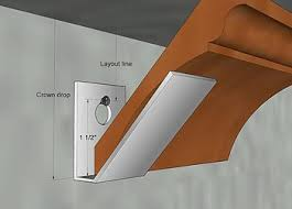 how to cut crown molding on kitchen cabinets