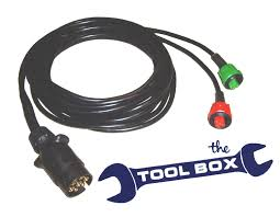 trailer wiring harness 6m for radex 6 function lamps the tool