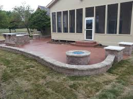 Slate Firepit Leo Concrete Patio Pits Gallery