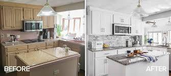 what is the average cost of refinishing kitchen cabinets amazing kitchen refacing transformations with before