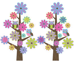 Owl Wall Sticker The Owl Wall Art Sticker Kit