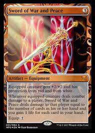 magic the gathering sword of war and peace foil