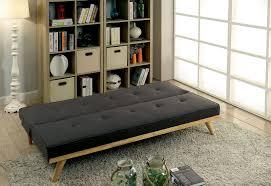 Modern Futon Sofa by Furniture Of America 2441gy Gray Mid Century Modern Futon Sofa Bed