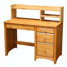 Student Writing Desk by Alder Student Desk Hutch Archbold Furniture Wood Furniture