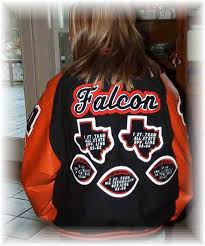 josten letterman jacket patch patches awards chenille embroidery tackle twill