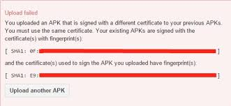 sign apk lost my keystore file unity answers