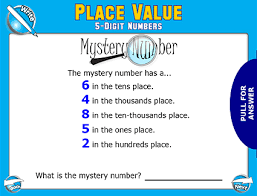 place value mystery number place value 5 digit 5 jpg