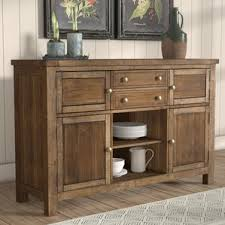 French Country Buffet And Hutch by Cottage U0026 Country Sideboards U0026 Buffets You U0027ll Love Wayfair