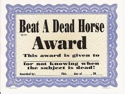 Beating A Dead Horse Meme - beating a dead horse award blank template imgflip