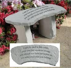 engraved memorial stones memorial benches garden memorial benches