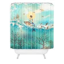 Vintage Mermaid Shower Curtain - oslo throw soft u0026amp luxurious gifts from z gallerie