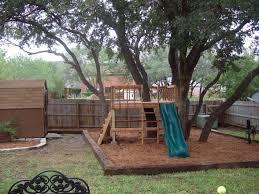 Kids Backyard Play Set by Fun Kids Backyard Redo From Zero Landscaping To Homemade