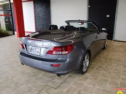 lexus is convertible trunk 2012 lexus is 250c convertible ft myers fl for sale in fort myers