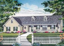 Open Floor Plan Country Homes 41 Best 1 1 2 Story House Plans Images On Pinterest Story House