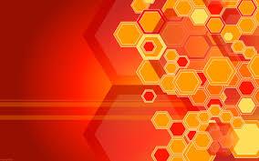wallpaper hd orange hd orange hexagons hd 1080p wallpaper download free 141267