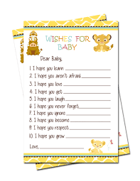 simba lion king baby shower wishes for baby games lion king baby