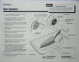 crutchfield auto speaker box wiring diagram crutchfield wiring
