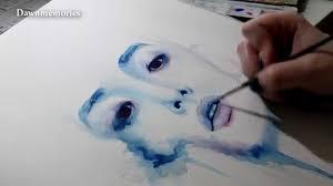 lee soohyuk watercolor painting youtube