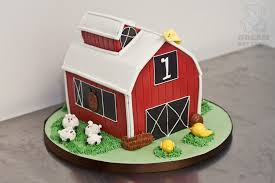 barn birthday cake gainesville bakery bearkery bakery