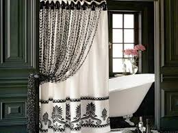 Shower Curtains With Matching Accessories Shower Curtains Bathroom Accessories Black And White Decor